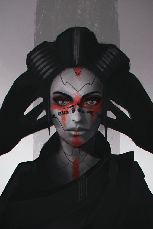 Sith Lady, Andreas Werchmeister on ArtStation at https://www.artstation.com/artwork/ndOE9
