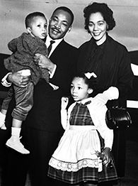 Martin Luther King Jr Parents | Dr. Martin Luther King Jr. andf family