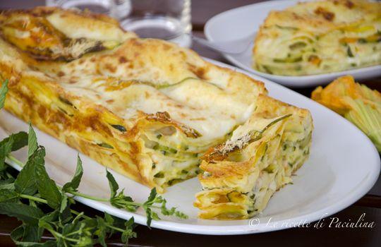 Lasagne alle zucchine: leggere, fresche, ottime per un primo piatto estivo, a me piacciono di brutto!