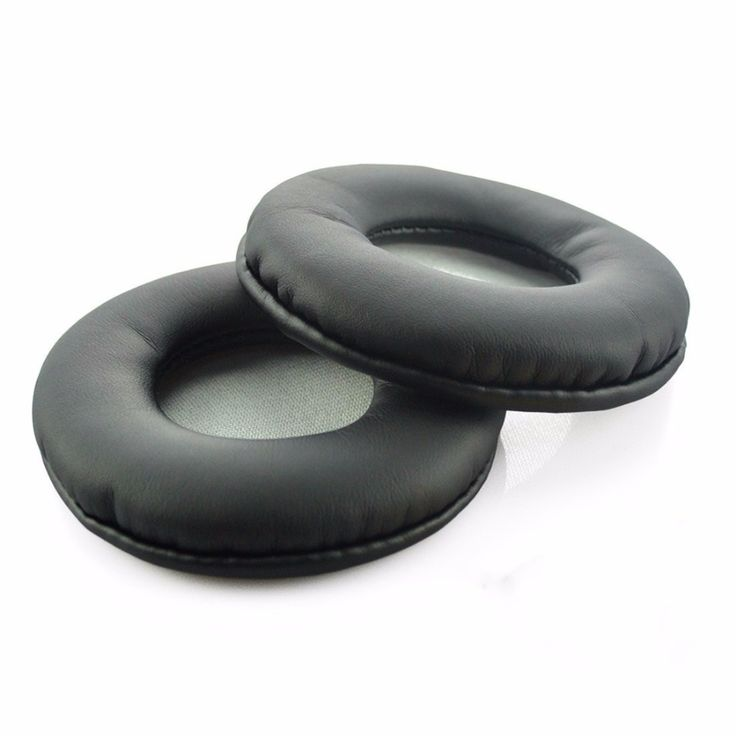 SONY MDR-ZX600 ZX600 Headphone Replacement Ear Pad Ear Cushion Ear Cups Ear Cover Earpads (Black leather & Gray Mesh)