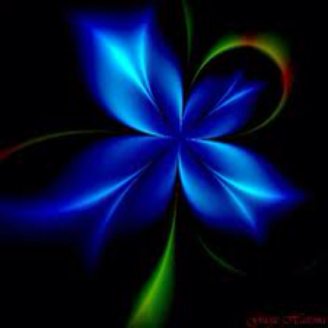 top fractal wallpapers floral - photo #43
