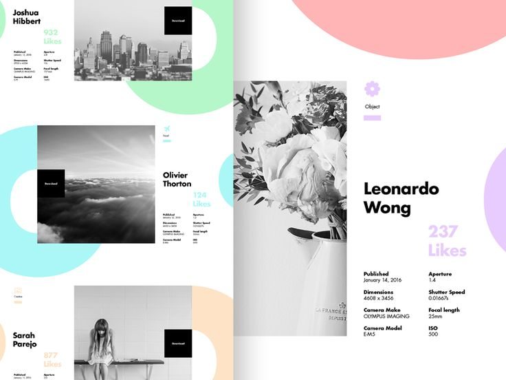 First layout for Perfecto Stock Imagery landing page.  Showing some of the stock imagery category.  I wanted to design a layout which would be visually attractive to the viewer and also compliment ...