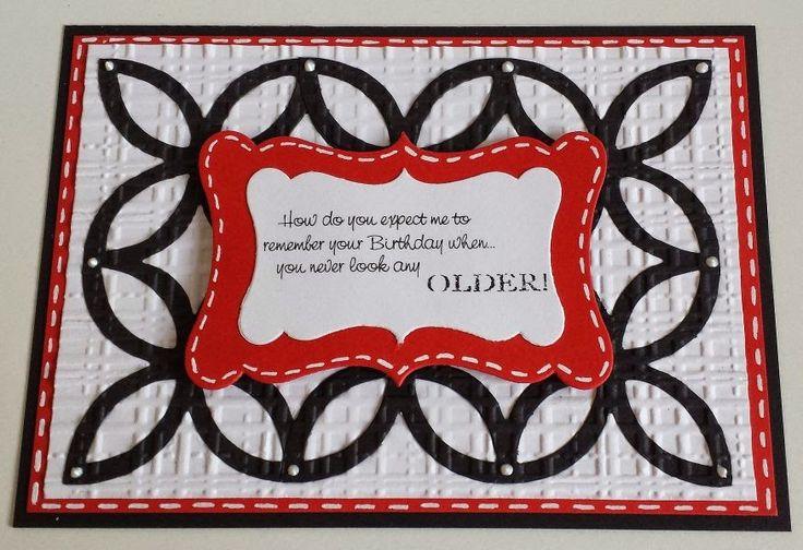 Digi-Stamps,  Happy Birthday,  Lexi's Creations,  Stampin ' Up Elegantes Gitter