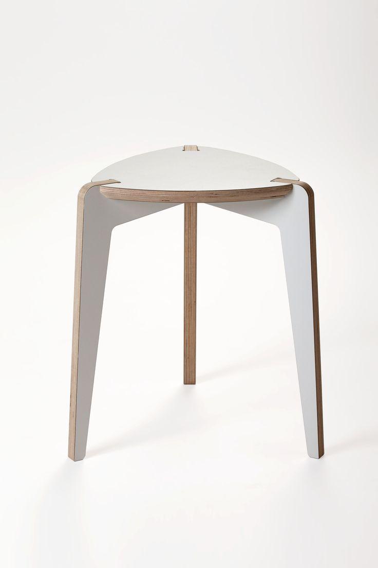 IWOODLIKE bolero stool 3 legs