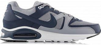 Кроссовки мужские Nike Air Max Command серый/синий цвет - купить за 5599 руб. в интернет-магазине Спортмастер