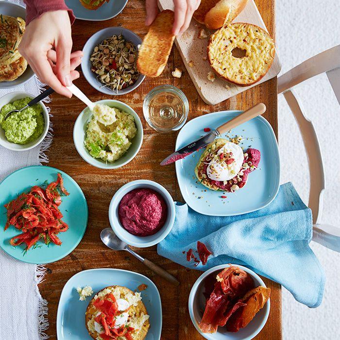 Gepocheerde eitjestapas-stijl recept - Jamie magazine