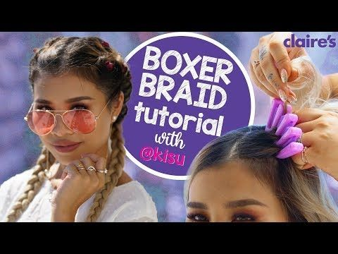 (114) Boxer Braid Hair Tool Tutorial with Kisu | C…
