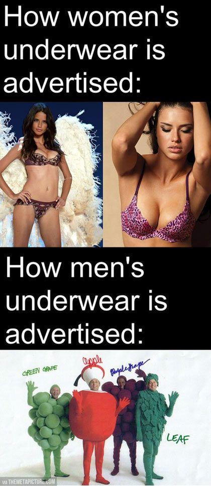 Womens favorite mens underwear