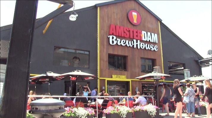 The Best Harbourfront Restaurant: Amsterdam BrewHouse http://www.rudderless.ca/best-harbourfront-restaurant-amsterdam-brewhouse/Taking long walks up and down the boardwalk will definitely get you hungry and if you're like me, summer + beer = patio Offering all three is the Amsterdam BrewHouse, the best harbourfront restaurant in Toronto. Trust me! The proof is the long lines of people snaking around the establishment waiting for a patio spot.  However, if you're a numbers person, The…