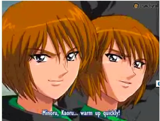 Minoru, Kaoru - Hungry heart wild striker