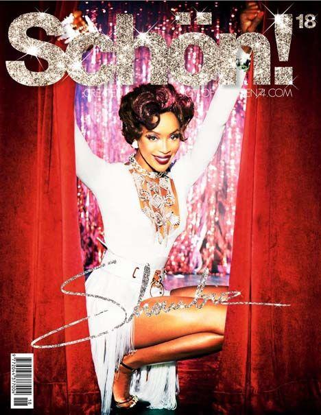 Naomi Campbell by  Ellen Von Unwerth for Schön Magazine #18