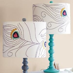 Lamp love... Cute designs that could also be drawn on pillows or canvas or scrapbook pages... use your imagination!