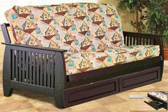 Online Espresso Futon Online at Morning Furniture