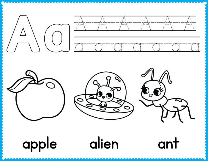 Free Alphabet Coloring Pages Preschool Printables Slap Dash Mom Preschool Coloring Pages Alphabet Coloring Pages Kindergarten Coloring Pages