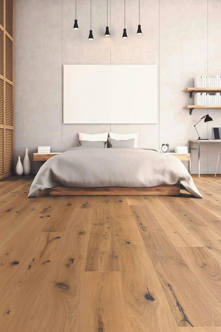 This excellent distressed wood flooring is a very inspirational