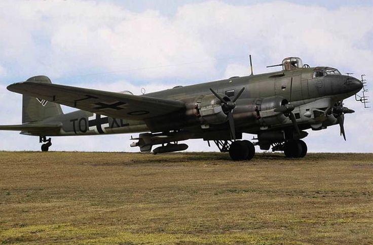 "Focke-Wulf Fw 200 ""Condor"". Another of my favorite Luftwaffe aircraft."