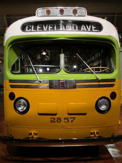 Henry Ford Museum.  Rosa Parks bus. A witness to the amazing courage - and power - of one determined woman.