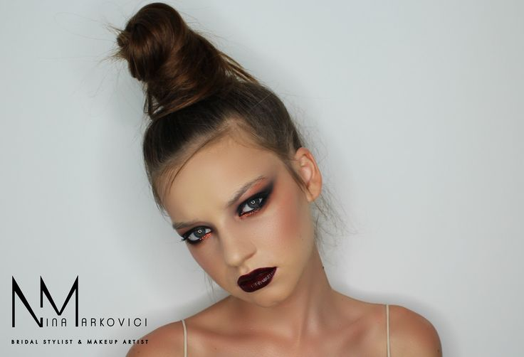 Fashion makeup and hair