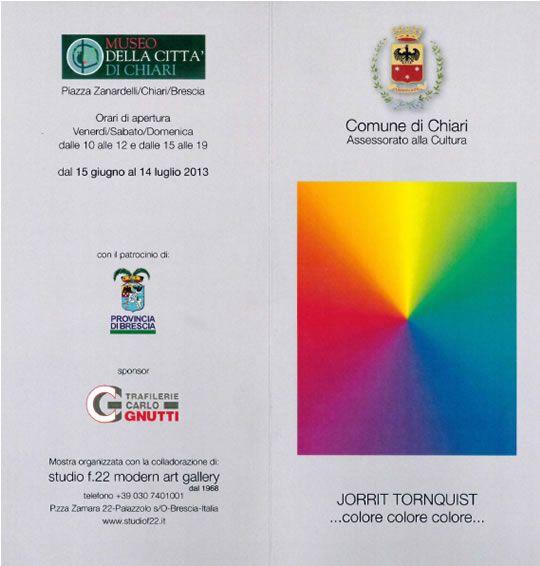 Mostra di Jorrit Tornquist a Chiari http://www.panesalamina.com/2013/11844-mostra-di-jorrit-tornquist-a-chiari.html