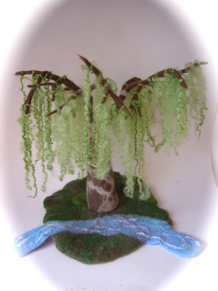 17 Best images about Needle Felted Trees on Pinterest ...