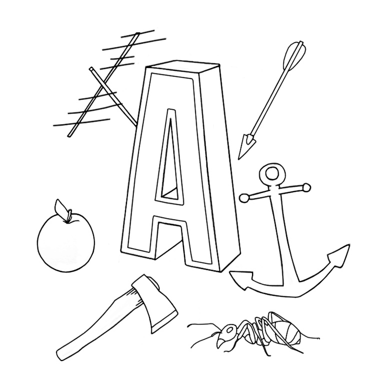 A. Coloring book ABC for iPad