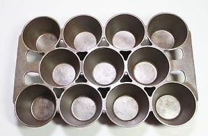 Griswold Cast Iron No 10 Popover Pan P N 948 Variation 4 | eBay
