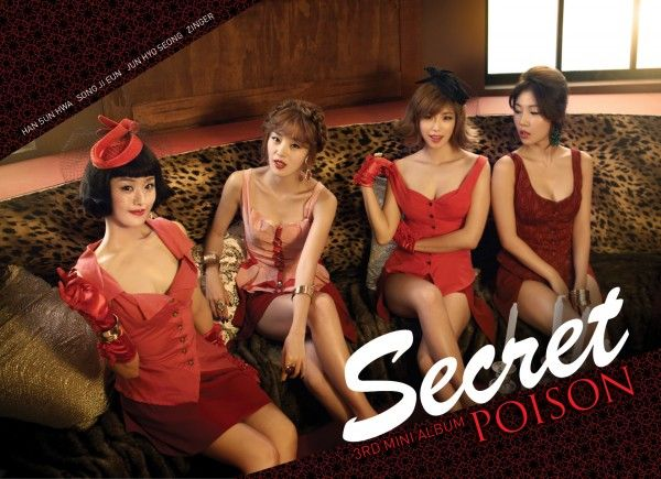 "SECRET releases 3rd mini-album + MV ""POISON"""