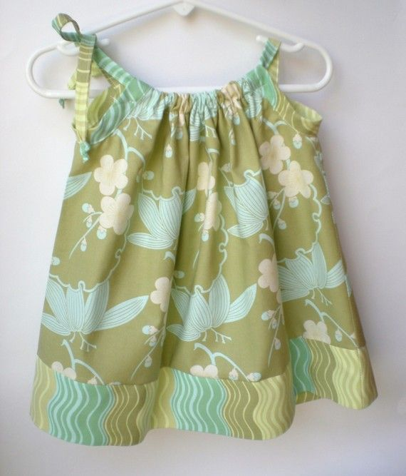 Girls Pillowcase Dress PDF Sewing Pattern and Tutorial (Sizes Nb-size 6)  - The BETSY DRESS on Etsy, $7.99 AUD