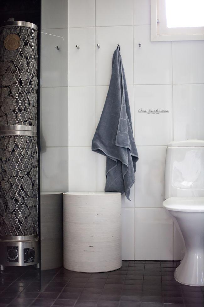 Bathroom and sauna.