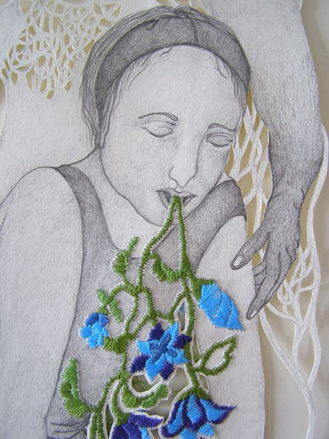 Best contemporary embroidery images on pinterest