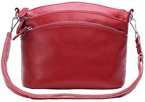 Womens Soft Leather Handbags Shoulder Bag Multi Zipper Pocket Small Bags Designer Handbag Crossbody Purse