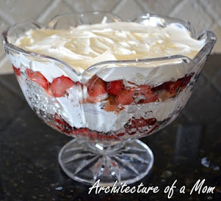 How to make a trifle--super easy!