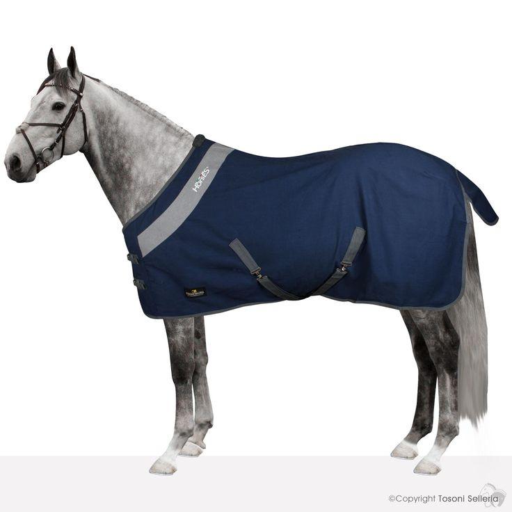 Coperta Cotone Horses Maddy