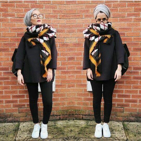 Hijab Fashion 2017 : Comment avoir un Hijab street style tendance - In Vogue Tunisie
