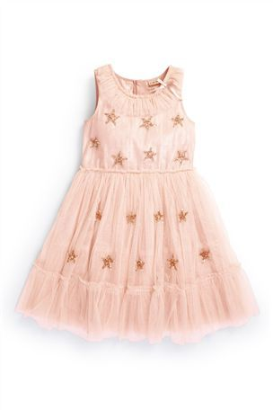 Pink Occasion Dress (3-12yrs)