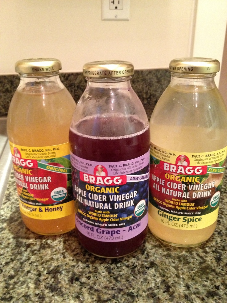 Bragg - Apple Cider Vinegar Drinks - soooooooo good for you!