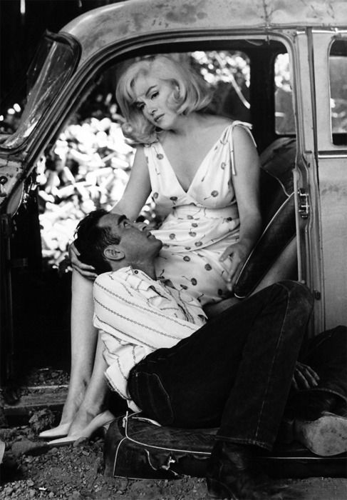 Montgomery Clift and Marilyn Monroe - The Misfits 1961