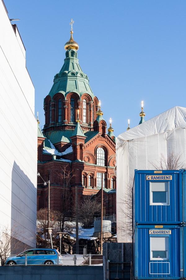 Cathedral with three blues. © Otso Kaijaluoto