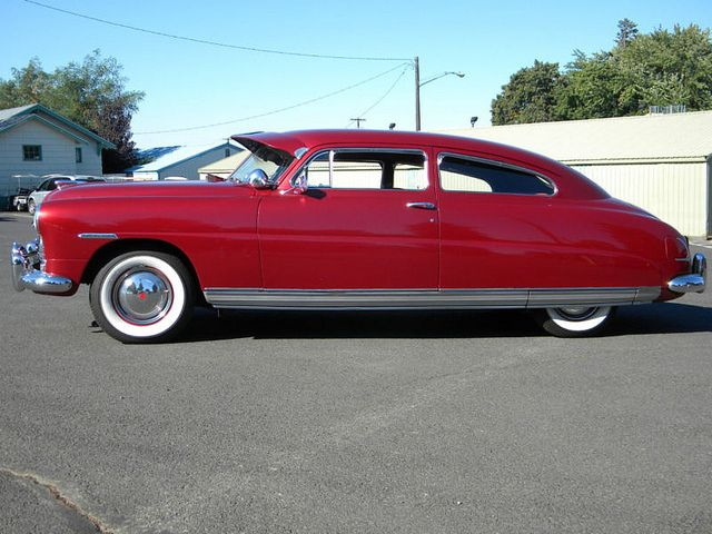 1949 hudson 2 door super six brougham