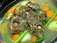 Resep Sop Buntut Kuah Bening   Resep Masakan Indonesia (Indonesian Food Recipes)