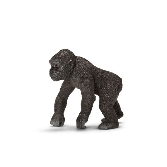 ___Baby Gorilla____ Schleich Figurine available at Fantaztic Learning Store Canada - shop.fantazticcatalog.com