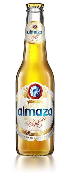 New bottle design for Brasserie Almaza