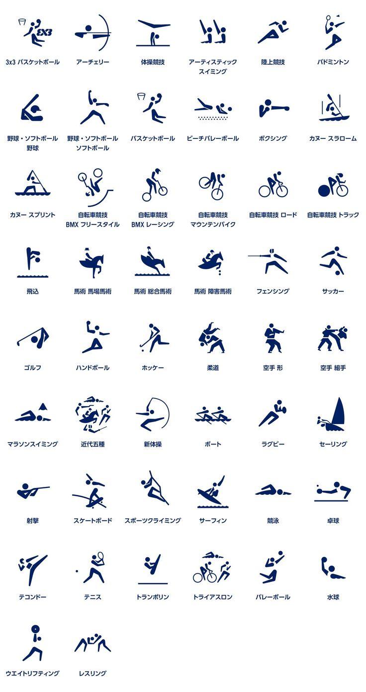 オリンピック 競技 アイコン