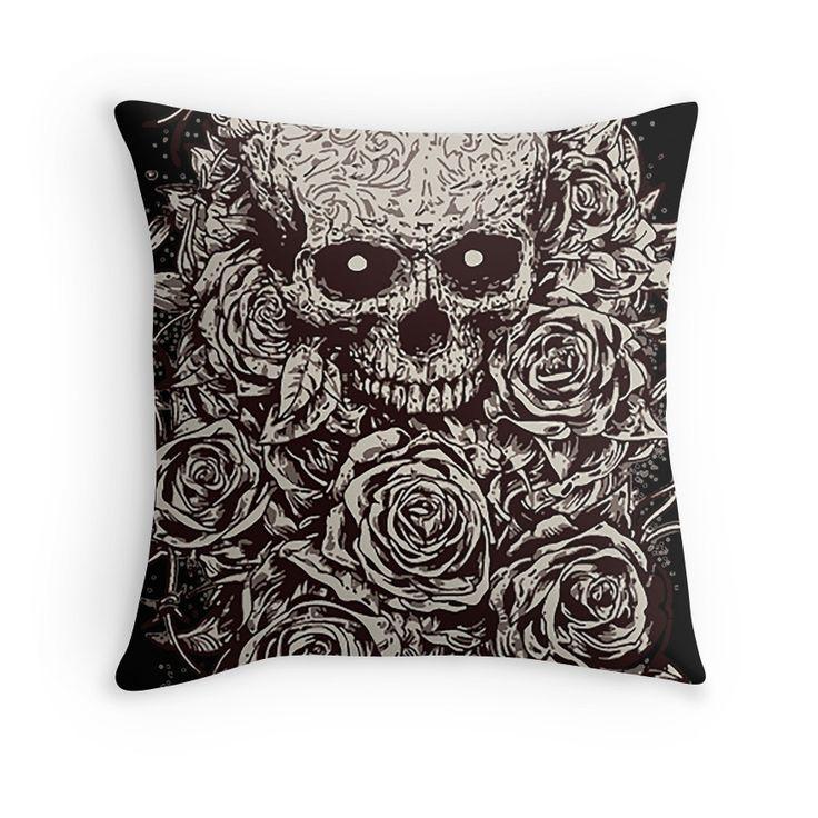 118 Best Skull ☠ Cushions Images On Pinterest Toss
