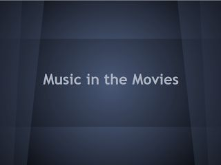 music and movies unit - 6th grade