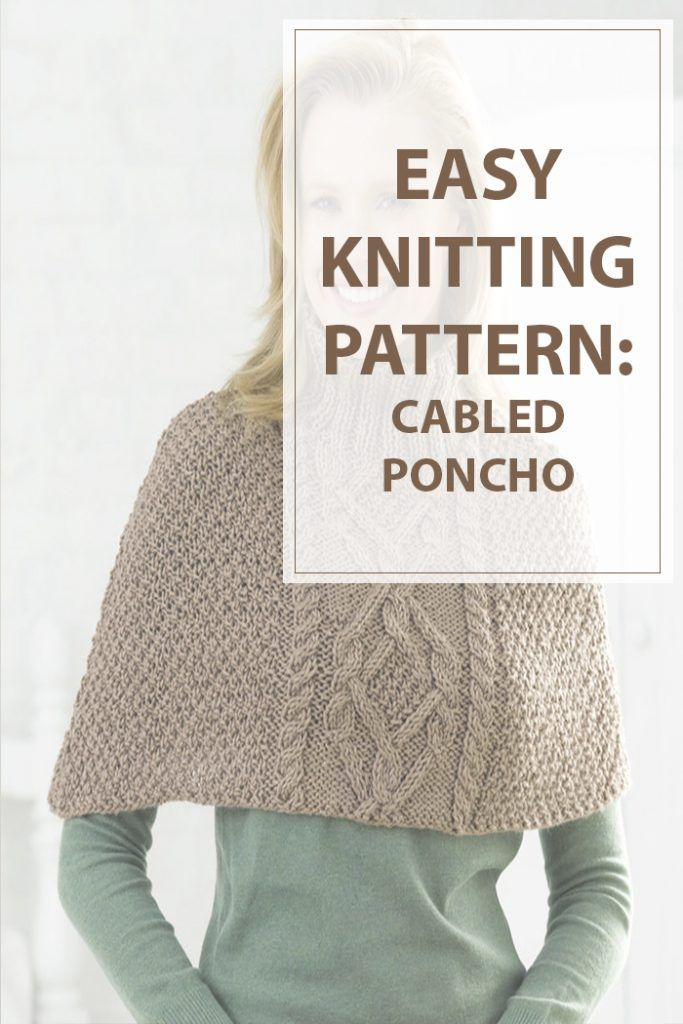 Knitting Patterns Cabled Poncho  Knitting patterns cabled poncho is an easy to…