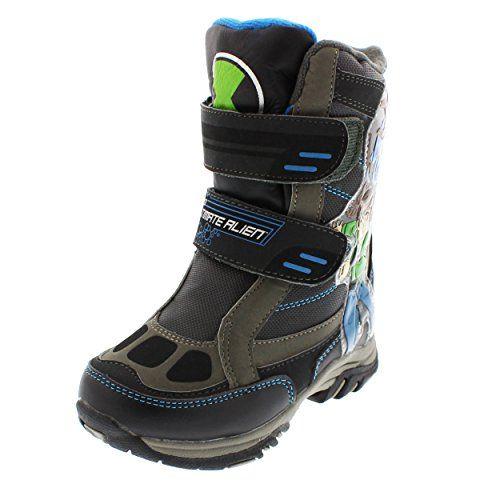 Ben 10 Ultimate Alien Boys Winter Snow Boots (10 M US Tod…