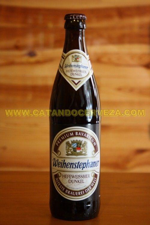 Cerveza Weihenstephaner Heffe Weissbier Dunkel. Cerveza de Trigo tostada alemana.....si  por fin te gusta la cerveza de trigo clásica, avanza un pasito y llegaras a esta Dunkel #cerveza
