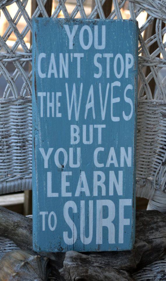 Beach Decor Beach Theme Surfing Decor You by CarovaBeachCrafts, $26.00