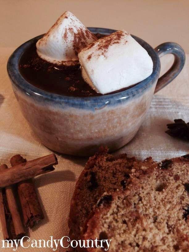 CIOCCOLATA CALDA SPEZIATA CON MARSHMALLOW http://www.mycandycountry.it/2015/04/cioccolata-calda-speziata-con.html